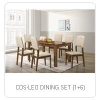 COS-LEO DINING SET (1+6)
